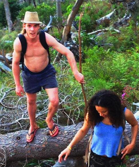 Hiking in Flip-Flops