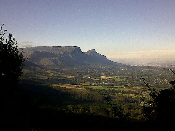 Constantia view from Silvermine