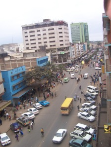Nairobi streetside