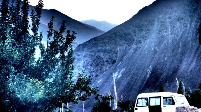 CARAVAN OF DREAMS | Storage house crafted out of an old Volkswagen outside of Leh | Ladakh