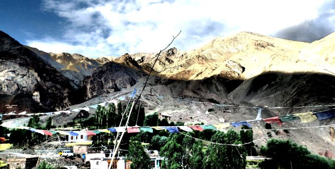 VALLEY OF A THOUSAND VOICES | Picturesque Ladakhi valley nurturing apricot orchards and field of wheat | Jammu & Kashmir
