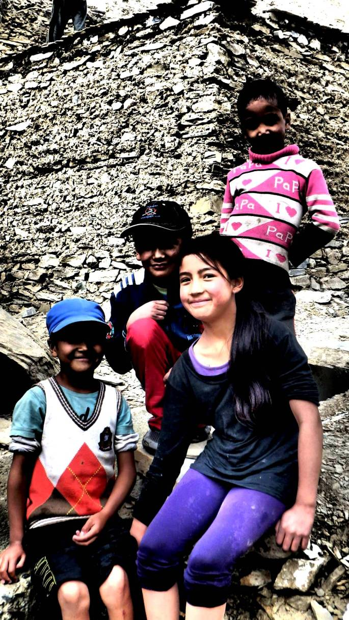 SIMPLE STYLING | Adorable kids happy to pose for a shot in Hemis | Ladakh